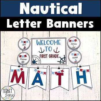 Nautical Bulletin Board Cutouts