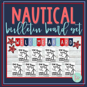 Nautical Bulletin Board Set