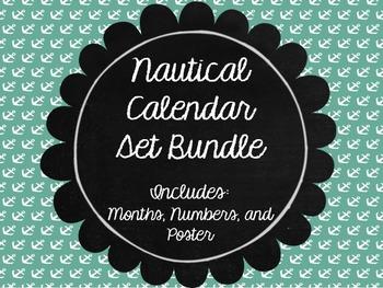 Nautical Calendar Bundle