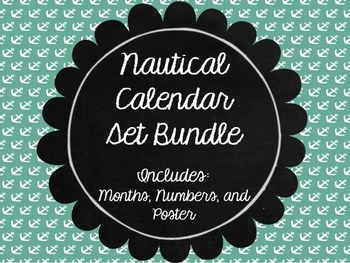 Nautical Calendar Bundle