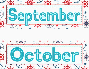 Nautical Calendar Pack