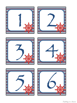 Nautical Calendar Set