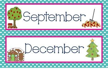 Nautical Calendar Set