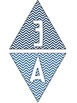 Nautical Chevron Welcome Aboard Pennant Banner
