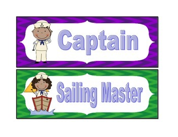 Nautical Class Jobs