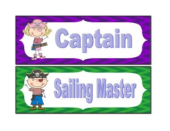 Nautical Class Jobs/Pirates