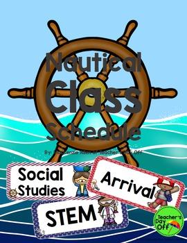 Nautical Class Schedule