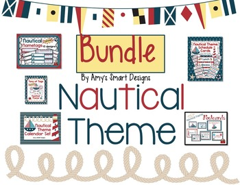 Nautical Classroom Bundle