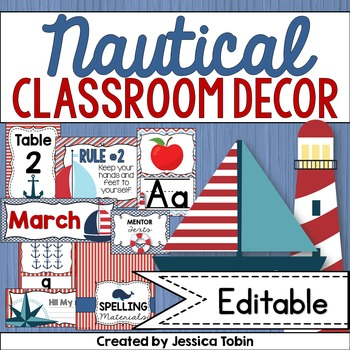 Nautical Theme, Nautical Classroom Decor