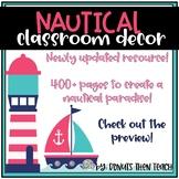 Nautical Classroom Decor