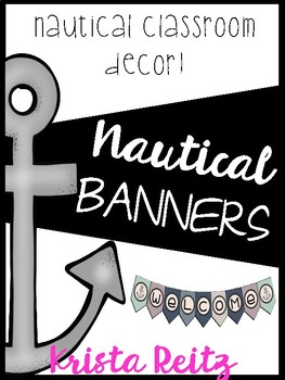 Nautical Classroom Decor {Banners}