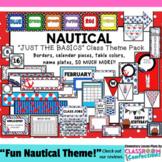 Nautical Classroom Decor: Nautical Theme Classroom