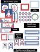 Nautical Classroom Decor Bundle (Editable)