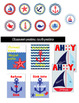 Nautical Classroom Decor Bundle (Editable)