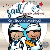 Nautical Classroom Decor Sailing into School