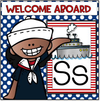 Classroom Decor...Nautical Theme!