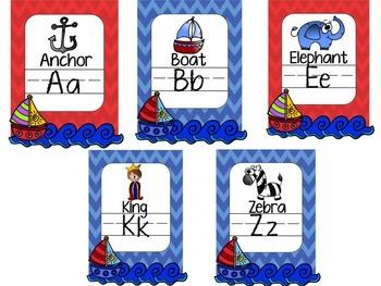Nautical Classroom Decorations