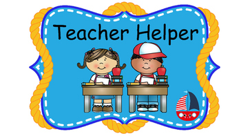 Nautical Classroom Helpers And Welcome Banner 2