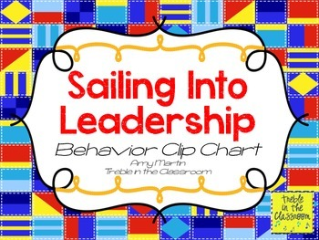 Nautical Classroom Job Chart