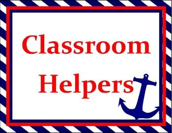 Nautical Classroom Jobs