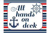 Nautical Classroom Jobs and Helpers