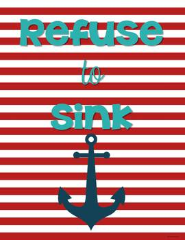 Nautical Classroom Posters