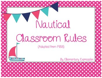 Nautical Classroom Rules
