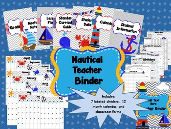 Nautical Classroom Set