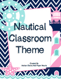 Nautical Classroom Theme