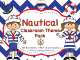 Nautical Classroom Theme Pack