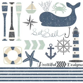 Nautical Clip Art Commercial Use
