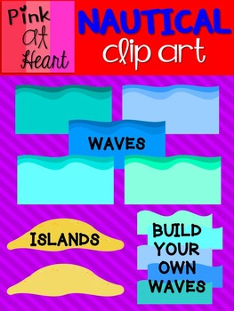 Nautical Clip Art Set