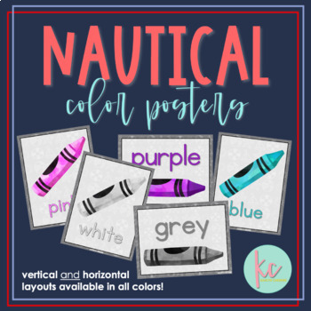 Nautical Color Posters