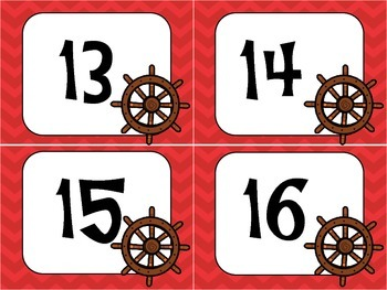 Nautical Cubby Numbers