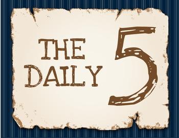 Nautical Daily 5 Anchor Charts
