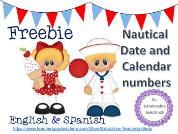 Nautical Date & Calendar Numbers