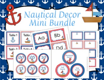 Nautical Decor Mini Bundle