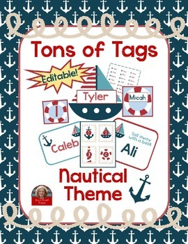 Nautical Theme: Tons of Tags