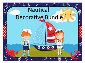 Nautical Decorative Bundle
