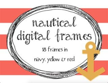 Nautical Digital Frames