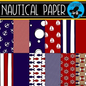 Nautical Digital Paper