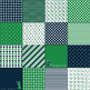 Nautical Digital Paper Pack - Green and Blue - 16 Different Papers - 12inx12in