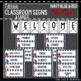 Nautical: Editable Classroom Signs & Labels