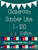 Nautical Theme Classroom Number Line