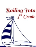 Nautical FIRST Day of School PACKET