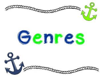 Nautical Genre Posters
