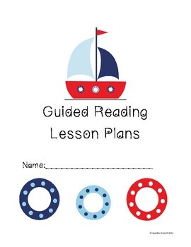 Nautical Guided Reading Lesson Plan