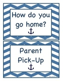 "Nautical ""How do you go home?"" Sign"