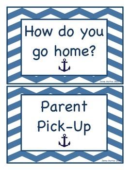 """Nautical """"How do you go home?"""" Sign"""