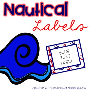 Nautical Labels (Editable)